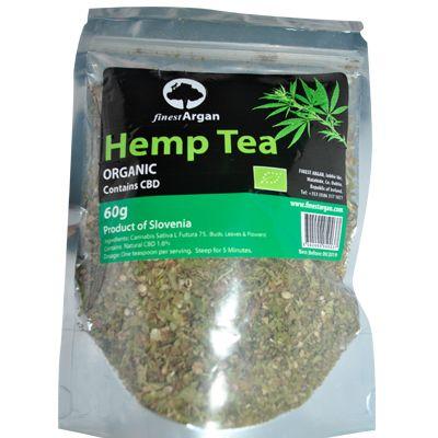 Hemp tea (CBD TEA) organic, Finest Argan